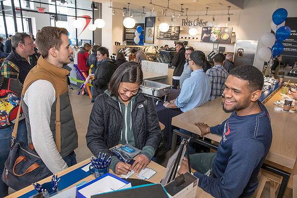 2/24/18-Capital One Cafe Grand Opening, Assembly Row, Somerville, MA