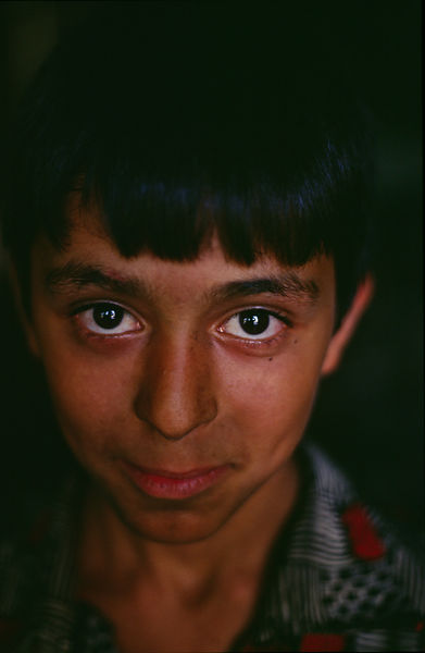Syria - Aleppo - A boy in the souk