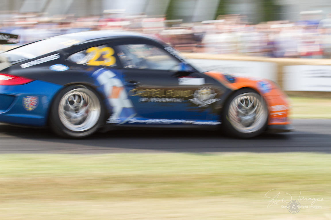 Porsche 911 GT3 Cup (3.8-litre flat-6, 2013), Porsche Cars GB - Goodwood Festival of Speed 2013