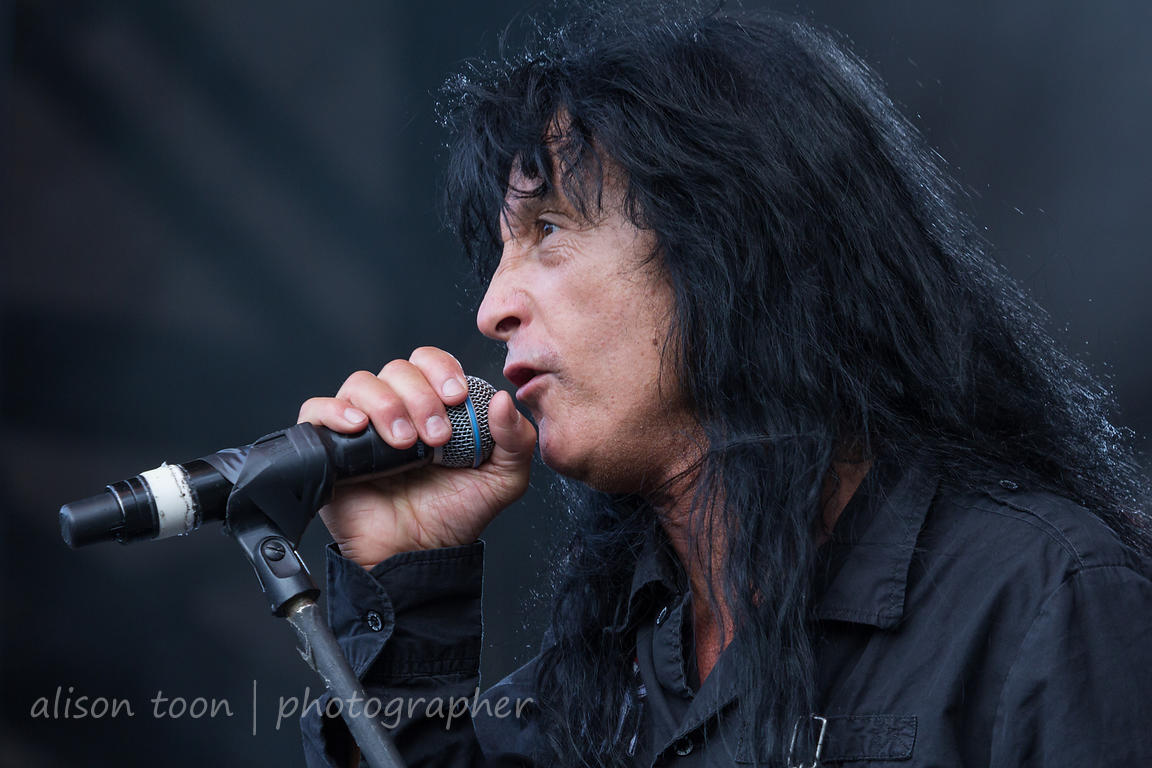 Joey Belladonna, vocals, Anthrax