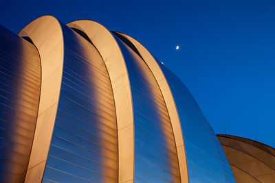 Kauffman Center and Moon