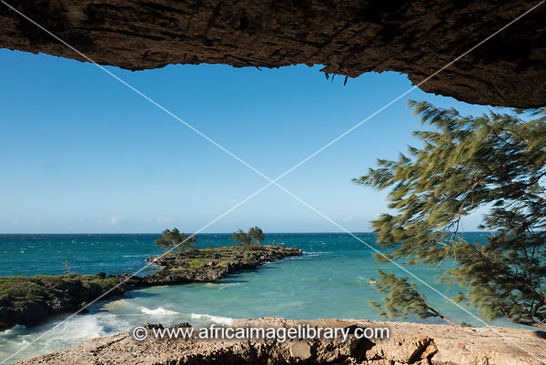 Old French fortifications, Dunes Bay, Antsiranana, Diego Suarez, Madagascar
