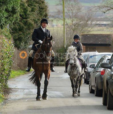 The Belvoir Hunt at Hose 15/2