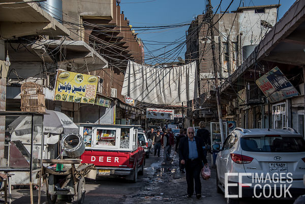 A Street In Central Erbil