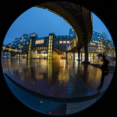European Parliament, fisheye view