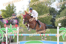 SCHAFER Kai (GER) and CALLISTO 17 during LAKE ARENA - The Summer Circuit II, CSI2*, GOOD BYE COMP, 140 cm, 2017 August 27 - W...