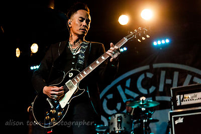 Stevie D., guitar, Buckcherry