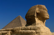 The Sphinx, Pyramids of Giza, Cairo, Egypt