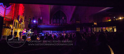Hoopla - The Mountain Goats (solo) w/ The Lonelyhearts, First United Methodist Church, April 21, 2014