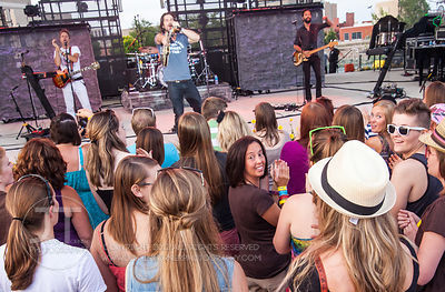 Hoopla - Matt Nathanson, McGrath Amphitheater, July 10, 2014