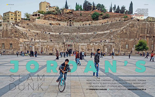 National Geographic Traveller, Jordan Coverage, March 2018