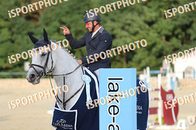 BRENNER Andreas (GER) and ARUNNA during LAKE ARENA - The Summer Circuit II, CSI2*, GOOD BYE COMP, 140 cm, 2017 August 27 - Wi...
