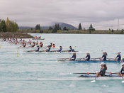 Taken during the Maadi Cup Regatta 2018, Lake Ruataniwha, Twizel, New Zealand; ©  Rob Bristow; Frame 0009 - Taken on: Saturda...