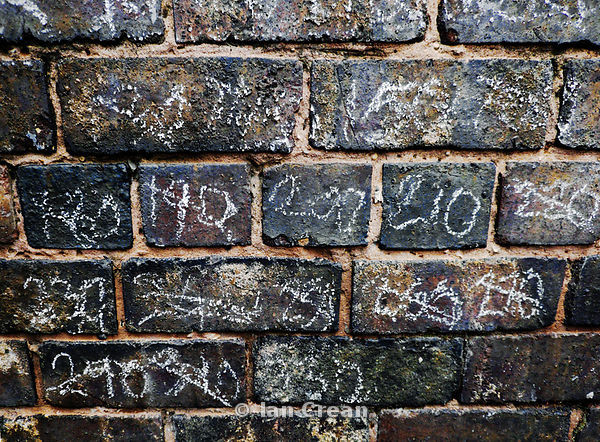 Chalk on Brick