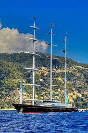 Superyacht Maltese Falcon
