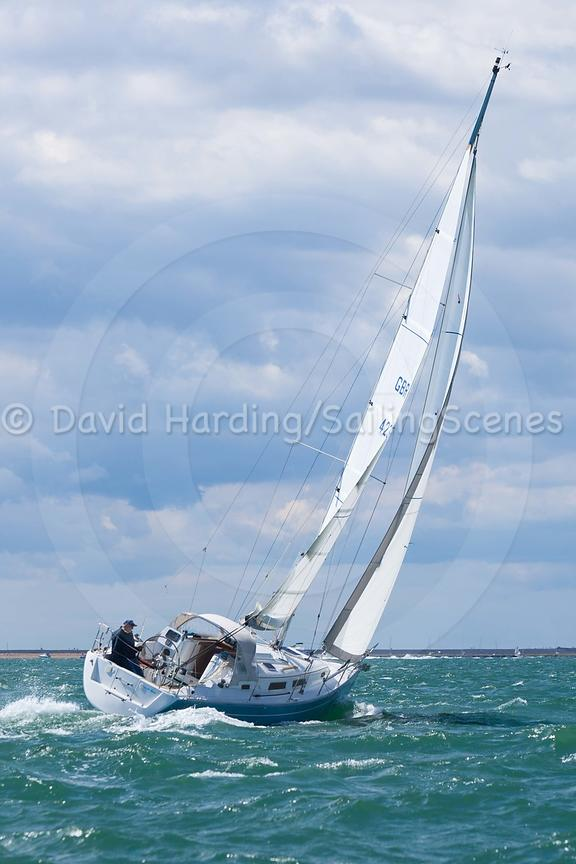 Cool Blue, GBR4236L, Hanse 315, 20160731730