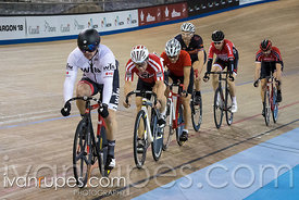 Master C/D Men Keirin 7-12 Final. Ontario Track Championships, March 4, 2018