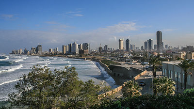 Tel Aviv as seen from Jaffa