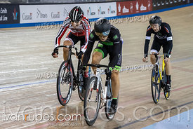 Master B Men Keirin 7-12 Final. Canadian Track Championships, Saturday Morning Session, September 29, 2018