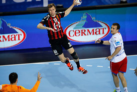 Danil Shishkarev during the Final Tournament - Semi final match - Vardar vs Meshkov Brest - Final Four - SEHA - Gazprom leagu...