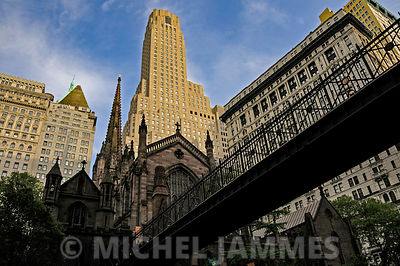 église quartier irlandais de New-York