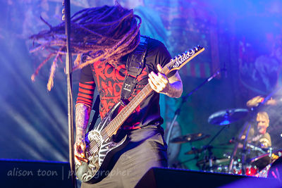 "Brian ""Head"" Welch, guitar, Korn"