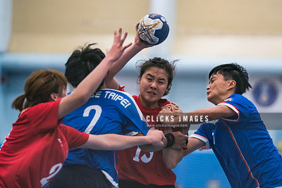 The 6th East Asian 'Men and Women' Handball Championship 第六屆東亞手球錦標賽 Women: Chinese Taipei vs Hong Kong on 2018 July 4 at Kowl...