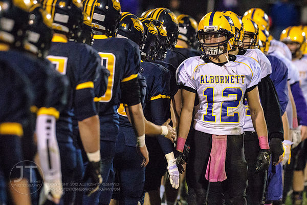 P-C Prep Football, Iowa City Regina vs Alburnett, October 29, 2014