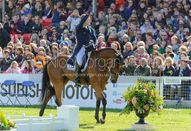 Michael Jung and LA BIOSTHETIQUE - SAM FRW - Dressage - Mitsubishi Motors Badminton Horse Trials 2013.