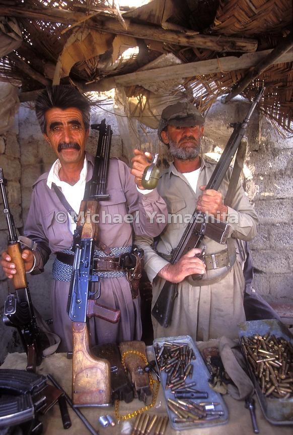 Wepons Bazaar-mostly small arms, grenades and rockets(used for river fishing they say.)  Guns are everywhere in Kurdistan, ma...