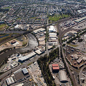 West Melbourne With Kensington Road And The Maribyrnong River, Melbourne
