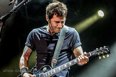 Sully Erna of Godsmack at Aftershock 2014