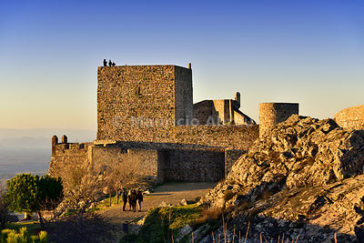The medieval castle of Marvão. Alentejo, Portugal