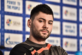 Tin KONTREC of PPD Zagreb during the Final Tournament - Final Four - SEHA - Gazprom league, Finals press conference Varazdin,...