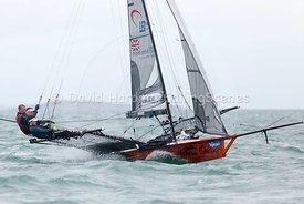18ft Skiff European Grand Prix, Sandbanks, 20160904039