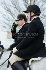 The Belvoir Hunt meet at Long Clawson 16/1