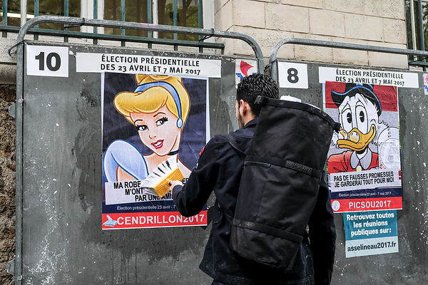 Street art during presidential election