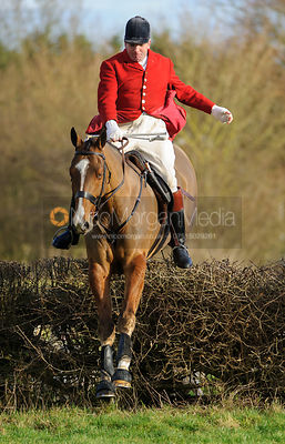 The Cottesmore Hunt at Barleythorpe 23/12
