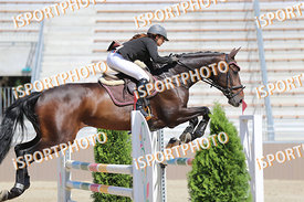 HMAIDI Amina (HUN) and AMERICANO during GP Kiemelt verseny, WVI Holding Amatőr GP - 120 cm, 2018. 06. 17. - Szilvásvárad  (Ph...