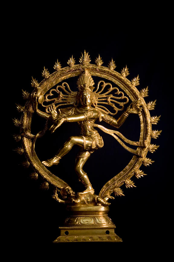 India - Swamimalai - A finished icon of the God Shiva shown here in tyhe form of the dancing Nataraja