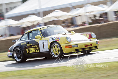 Porsche 911 Supercup (3.8-litre flat-6, 1993) - Celebrating 50 years of the Porsche 911 at Goodwood Festival of Speed 2013