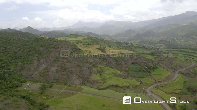 Drone Video or Farmland Ethiopia