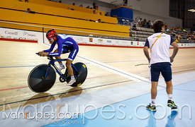 Women's 500m Time Trial C1-5, Track Day 1, Toronto 2015 Parapan Am Games, Milton Pan Am/Parapan Am Velodrome, Milton, On; Aug...