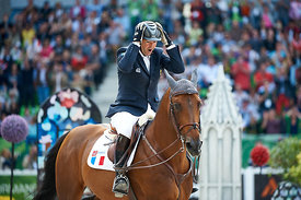 DELAVEAU, Patrice, (FRA), Orient Express HDC during Second round Individual competition at Alltech World Equestrian Games at ...