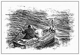 old_lady_fishing_HKG_illustration_B_W_pe