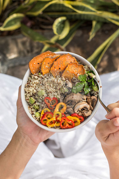 Quinoa and Sweet Potato Power Bowl
