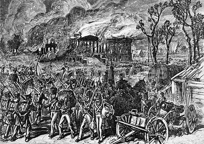 Capture of Washington, DC during War of 1812
