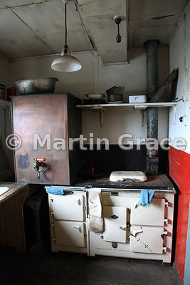 Kitchen in British Antarctic Survey Base Y (1955-60, 1969), Horeshoe Island, Marguerite Bay, West Graham Land, Antarctic Peni...