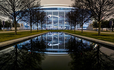 Reflections of Cowboy's Stadium