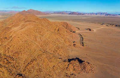 Aerial view of Namib-Naukluft National Park, Namibia